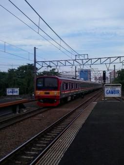 Pemandangan Jalur Kereta Api Indonesia – Baim Muhammad